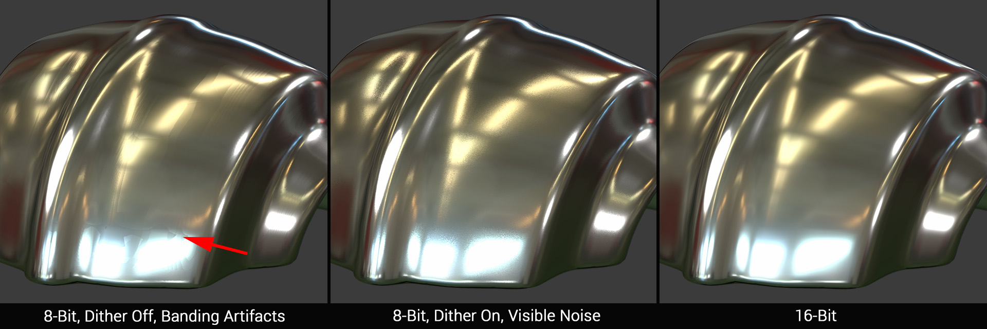 banding and dithering