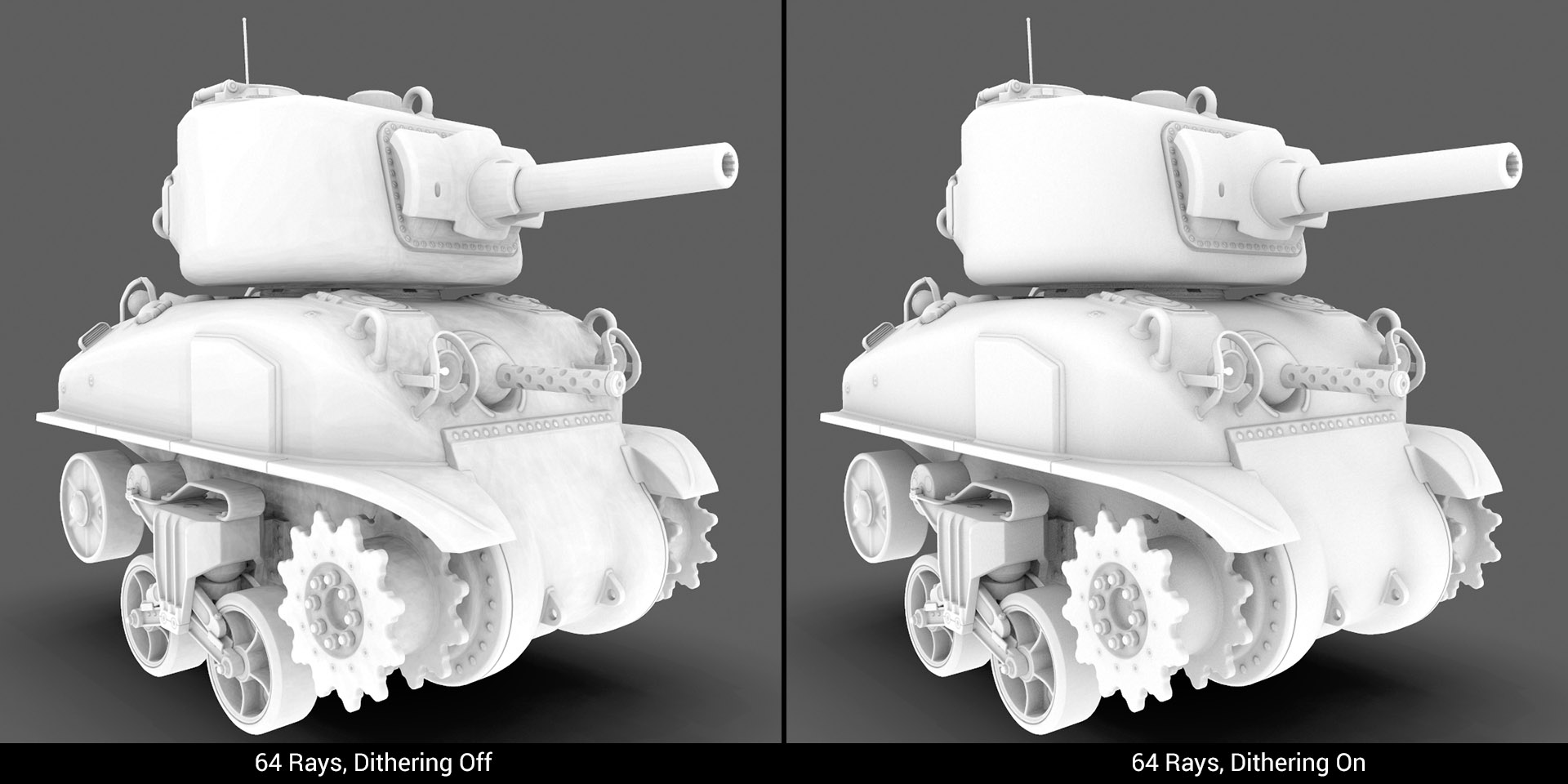 Ambient Occlusion Dithering