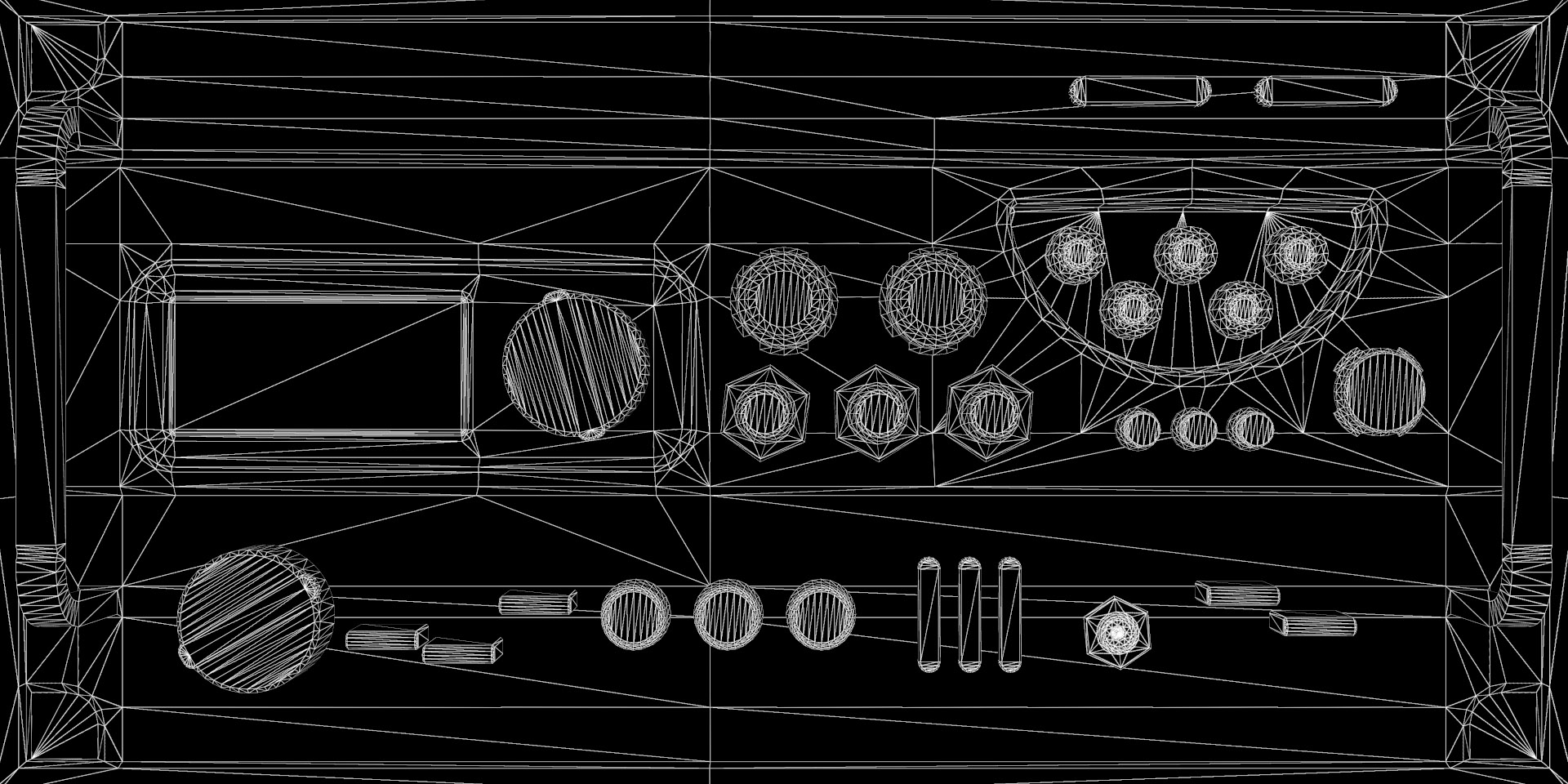 Wireframe Map
